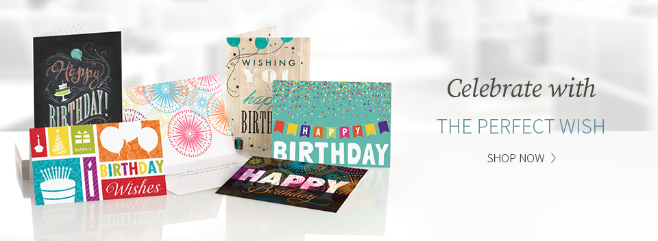 business greetings banner